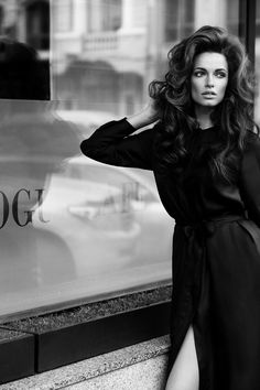 "VOGUE CAFE Photographer: Andrey Yakovlev Models: Sasha Silver, Kristina Purvinska, Ekaterina Shimanskaya Make-up: Lili Aleeva Hair style: ""Le Colon"" Fashion style: Alena Akhmadullina"