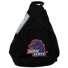 #Fanatics Boise State Broncos Slingback Backpack - Black/Royal Blue/Orange