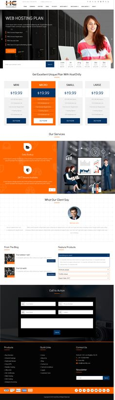 ThemeChilly provides WordPress themes with WHMCS order form - order form templates