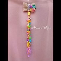 Pearl Jewelry, Jewelery, Vehicle Accessories, Diy Flowers, Tassel Necklace, Diy And Crafts, Dangles, Gardening, Pearls