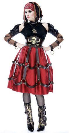 Steampunk Pirate Costume