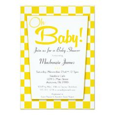 Shop Yellow Gray Retro Diner Baby Shower Invitation created by Flospaperie. Dinner Party Invitations, Baby Shower Invitations For Boys, Bridal Shower Invitations, Baby Shower Themes, Babyshower Invites, Invitation Ideas, Baby Shower Yellow, Gender Neutral Baby Shower, Baby Boy Shower