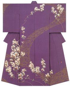 Kaga-Yuzen kimono (Homongi) -  Kazuhiko Kitamura                                                                                                                                                                                 More