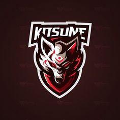 Renard Logo, Game Logo Design, Esports Logo, Sports Team Logos, Background Design Vector, Mascot Design, Dog Logo, Gaming Wallpapers, Great Logos