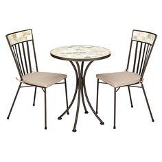 Buy John Lewis Petra Mosaic Bistro Dining Set Online at johnlewis.com