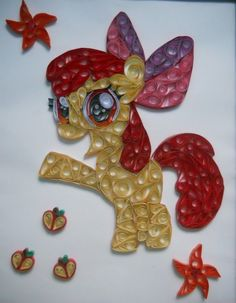 Quilled My Little Pony - Neatorama