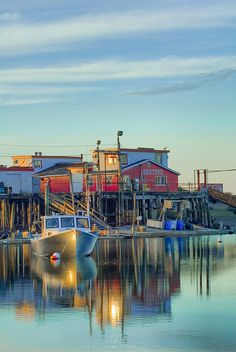 Cook's Lobster House at Bailey Island, Maine