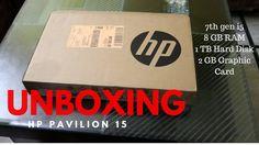 HP Pavilion 15-au620tx Unboxing