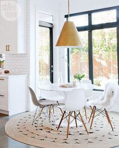 A statement pendant can change the look of an entire room.