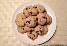 Yum, with coconut oil, can't wait to try these gluten-free chocolate chip cookies!