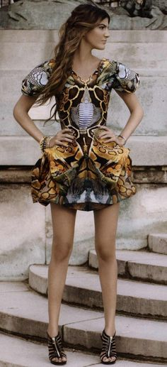 Alexander McQueen, jungle goddess LOVE THIS!