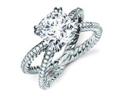 """David Yurman.. Would love this with a blue stone as a """"something blue"""" pesent ;)"""