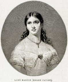 Victorian actress Helen Faucit.  Learn out more about her life on my blog