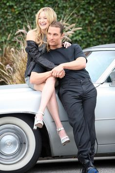 Kate Hudson Matthew McConaughey. Love them, especially together.