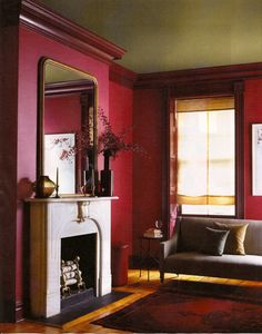 Living Room Ideas Amp Inspiration Red Paint Colors