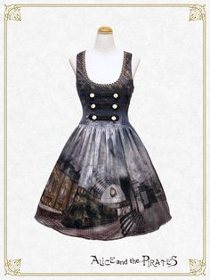 Alice and the Pirates The Wizarding platform〜Steam engine and the illusion of the foggy town〜jumper skirt Ⅰ