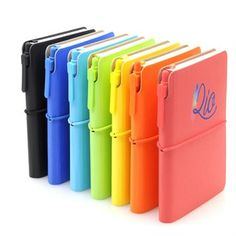 Chameleon Rio Journals- come with matching pen and fancy plastic sleeve