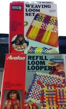 Weaving Loom Set Avalon with Refill Loom Loopers Craft House 2 box set