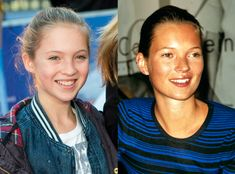 Lila Grace & Kate Moss from Celeb Parents & Their Mini-Me's  Mini-me indeed! Kate's 12-year-old daughter clearly inherited her momma's gorgeous looks.
