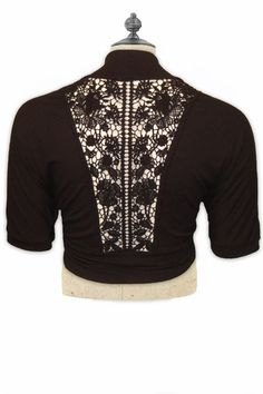 Crocheted Bolero by Lucie Lu  $27.00