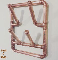Suporte de parede para  4 copos todo de cobre: casaetd@gmail.com IG: @casaetudo