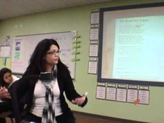 """Close Reading Lesson - """"The Road Not Taken."""" Listen to the various style of questioning and adapt it to your passage."""