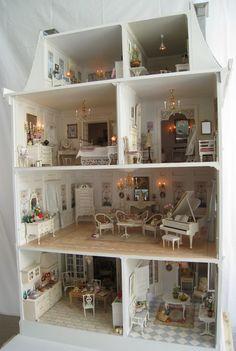 Doll House DIY Kit October Fairytale Large Villa Suite I/'ve always loved you 45