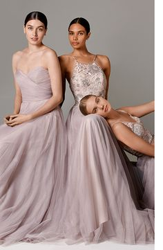gorgeous bridesmaids dresses and gowns at Watters.com