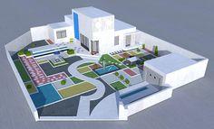 Villa Arpel's model by Grégory Korzeniowski_2