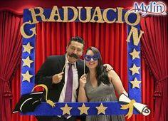 Accesorios para fiesta de graduación / Photobooth / Picks de Lentes, Bigote, Besos / Mega Marco