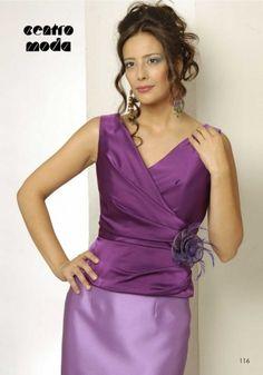 Vestido de madrina fiesta Centro Moda 116