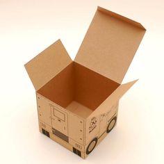 armoured del printable diy gift box
