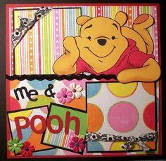 DISNEY SCRAPBOOK -Pooh layout  http://cameron17.SkinnyFiberPlus.com/?SOURCE=pinned