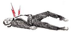 Hombre Muerto. Illustration, Dead Man's Switch, Black, Men, Illustrations