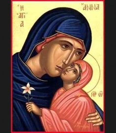 Saint Ann and the Mother of God