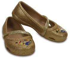 Kids' Crocs Lina Beauty and the Beast™ Flats - Pair