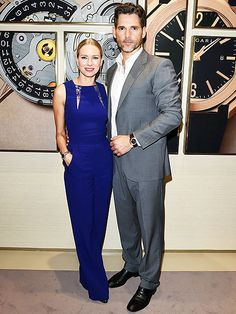 [This jumpsuit is FIRE!]   Star Tracks: Friday, March 28, 2014   ONES TO 'WATCH'   Naomi Watts and Eric Bana cut fine figures while attending a Bulgari watch unveiling Thursday in Basel, Switzerland, as part of Baselworld.