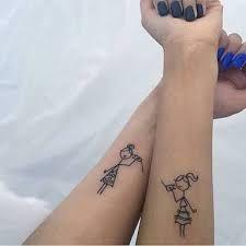 Resultado de imagen para pinterest tattoo sisters no pé