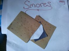 Smores craft for c&ing week! Too cute easy and can use to teach shapes & preschool tent crafts - Google Search | Camping Unit | Pinterest ...