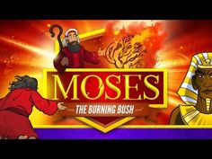 Exodus 3 Moses and the Burning Bush Bible Video for Kids: Moses and the Burning Bush (Exodus 3:1-4:17) This epic Exodus 3 Bible Video for Kids brings to life the story of Moses meeting with God at a burning bush. After this encounter Moses, and the rest of the world, would never be the same! With award-winning artwork, amazing animation, and bold storytelling this video is your must-have Sunday School resource.