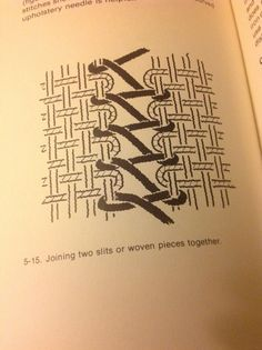 joining 2 pieces of weaving together - Google Search