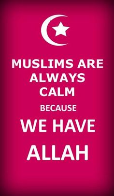 """We now have """"Keep Calm"""" saying for Muslims???  What the heck????"""