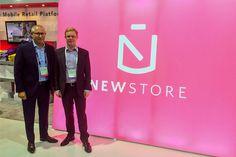 Stephan Schambach (CEO NewStore Inc.) and Friedhelm Scharhag (CEO Mobizcorp) @Shop.org Philadelphia Oct. 2105