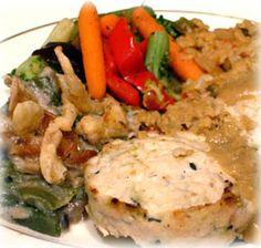 National Soyfoods Month- Recipe #24 - Mock Chicken Patties