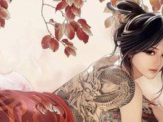 Красивая девушка из Китая