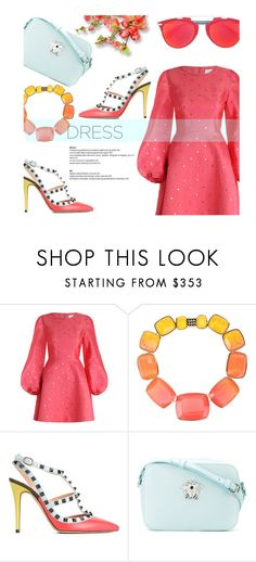 """""""L.S.D"""" by saidenazari ❤ liked on Polyvore featuring Zimmermann, Elie Saab, Valentino and Versace"""