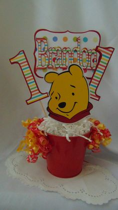 Hey, I found this really awesome Etsy listing at https://www.etsy.com/listing/114948501/winnie-the-pooh-birthday-centerpiece