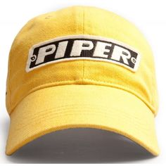 903e4f3834c Red Canoe Piper Cub Baseball Cap - Burnt Yellow - 11095 Cubs Baseball