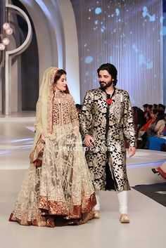 Saim Ali Collection at  Pakistan Bridal Couture Week 2013