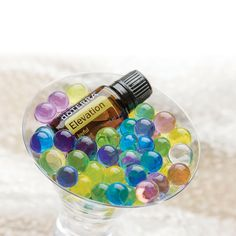 Create your own essential oil diffuser by combining the aroma of essential oils with colorful and decorative water beads. Check out the DIY tutorial here. Also good for sensory. Kiddos will love these. all natural doterra essential oils to protect your family and their brains!